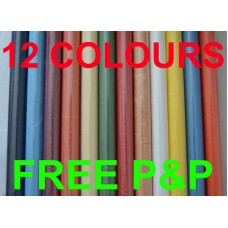 Plain Rice paper 12 colours