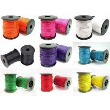 1 10 30 80Mtr Cotton wax cord